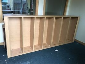 Large Commercial Book case or Shelves