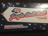 2/4 Capital FM Jingle Bell Ball Tickets Saturday 3rd December O2