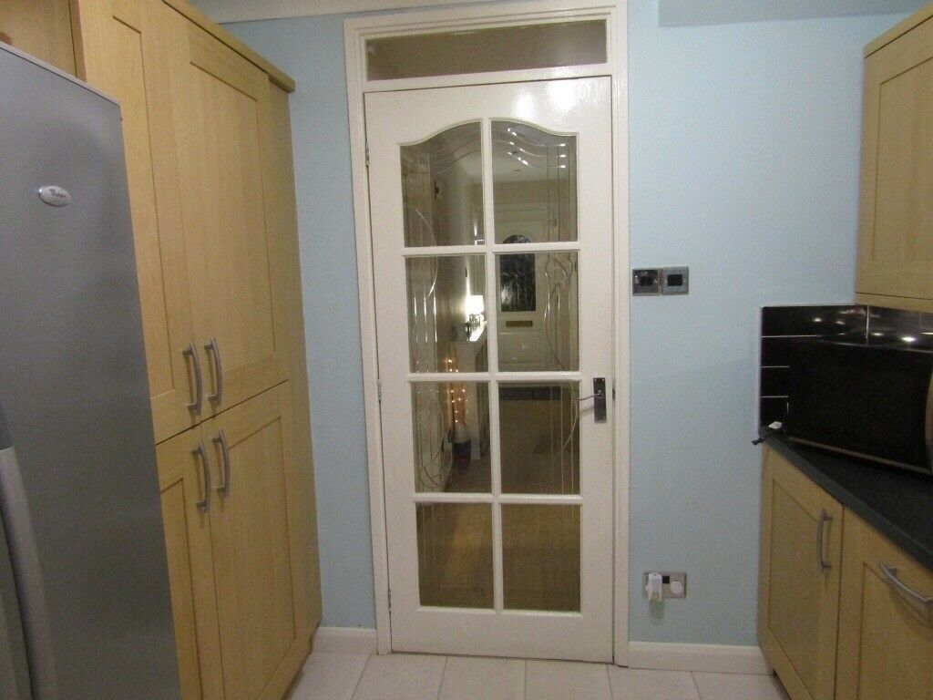 2 Interior Glass Panel Doors In Lenzie Glasgow Gumtree