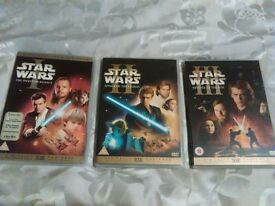 Star Wars Episodes 1-3.
