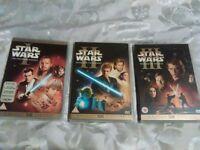 Star Wars Episodes 1-3.