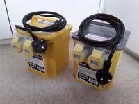 £50. Defender 3 KVA Transformer 2 x 110V Outlets