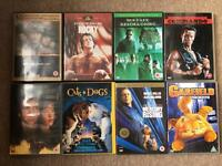 8 GREAT DVDS