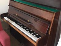 Calisia upright piano (stool incl) for immediate sale, £400