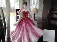 Royal Doulton Bone china Pretty Ladies Figurine- Alexandra