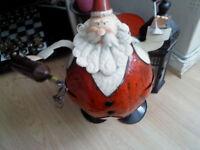 Vinatge Santa on springs great condition