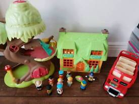 Happyland collection and figures