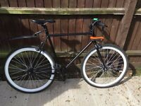 Used, no logo fixie in great condition with flip -flop hub for sale!
