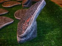 latex moulds to make teardrop memorials bargain job lot