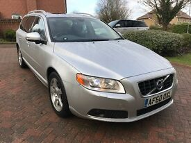 VOLVO V70 2.4 D5 LUX GEARTRONIC 2010/60 silver metalic