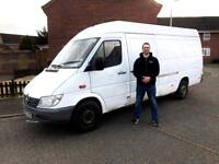 Man with a big van. Competitive prices, friendly service, sofa, fridge, washing machine