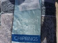 Kelkay 12mm - 16mm Cornish Silver chippings for sale - 7 Bags - Total weight 133.7 Kgs