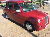 IMMACULATE TX1 2001 TAXI TX4 REPLICA WITH BIRMINGHAM PLATE NO EXPENSE SPARED NEW DOORS SILLS PANELS
