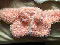 Baby girls knitted cardigans