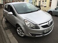 2009 Vauxhall Corsa 1.2 SXi, 6 Door Hatchback, Silver, Low Mileage, 68000 Only New MOT