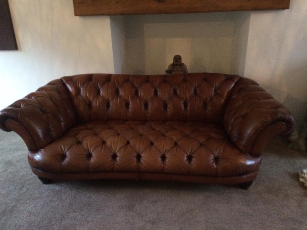 Oskar Sofa Amazing Dfs Oskar Leather Chesterfield Sofa In