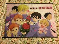 Ouran High School Host Club Fabric Wall Mount/Poster