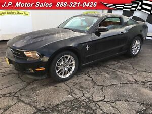 2012 Ford Mustang V6, Manual, Sunroof,