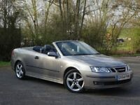 Saab 9-3 2.0 T Vector 2dr FULL HISTORY + BLUETOOTH.