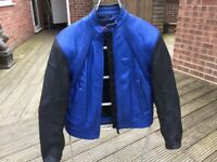 """Blue Dainese jacket size 48 (fits 38"""" chest)"""
