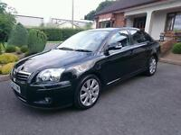 2008 TOYOTA AVENSIS TR D4D... 62000 MILES.. FULL YEARS MOT..FINANCE THIS CAR FROM £28.30 PER WEEK..