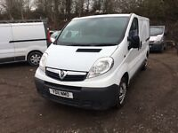 2011 VAUXHALL VIVARO TRAFIC 2.0 CDTI 6SPEED SWB WHITE E/W WE ARE VIVARO/PRIMASTAR/TRAFIC SPECIALISTS