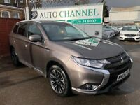 Mitsubishi Outlander 2.0 GX4h CVT 4x4 5dr (5 seats)£17,950 .NEW SHAPE!1 YEAR FREE WARRANTY