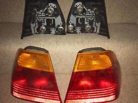 BMW e46 rear light units