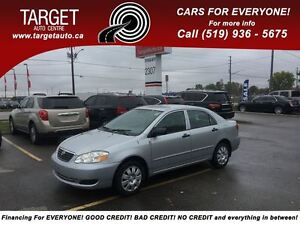 2005 Toyota Corolla CE, 4 Cylinder Great on Gas !!!! London Ontario image 1