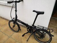 Dahon Vitesse D8 Folding bike with pannier + free carry bag!