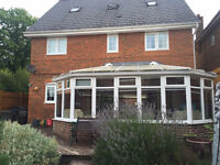 White UPVC Conservatory - Excellent Condition - Open to reasonable offers