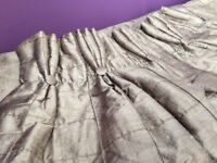 Designer silk curtains