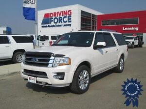 2017 Ford Expedition Max Limited 8 Passenger 4X4, Remote Start