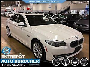 2013 BMW 5 Series 528i xDriveCUIR TOIT OUVRANT NAVIGATION BLUETO
