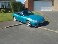 Mazda MX5, low mileage, good runner