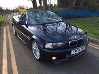 BMW 330CI M SPORT CONVERTIBLE 2003 AUTOMATIC FULL HISTORY 1 YEAR MOT 2 KEYS HEATED SEATS CLEAN CAR