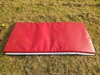 Big padded mat