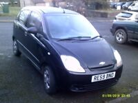 chevrolet matis.2009. very low milage. 35000.miles. vgc. £995 ono.
