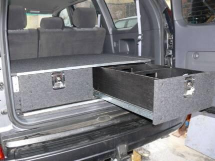 4wd Wagon Storage Drawers, Draws