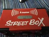 Street box portable speaker