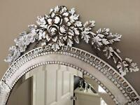 French style Oval Mirror