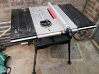 Woodworking power tools - table saw | disc/belt sander | router