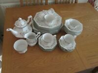 tea and dinner service johnson brothers eternal beau designe