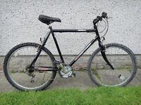 BSA Westcoast bike, 26 inch wheels, 15 gears, 23 inch frame, black