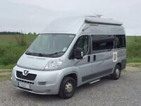 Auto Sleepers Symbol 2 berth campervan with 3 belted seats