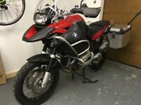 2009 BMW GS 1200 adventure, only 4100miles, serviced, mot, recent tyres.