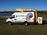13m cherry picker hire from £120 Fife,Edinburgh,Glasgow,Perth,Dundee,Stirling,Falkirk,Livingston etc