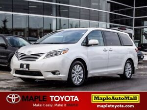 2015 Toyota Sienna LIMITED AWD NAVIGATION LEATHER DUAL SUNROOF