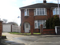 3 Bedroom House with Garage and Driveway, close to Challney schools, L&D Hospital, Motorway, No DSS
