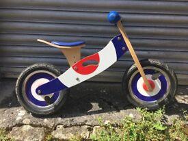 Wooden Retro Balance Bike